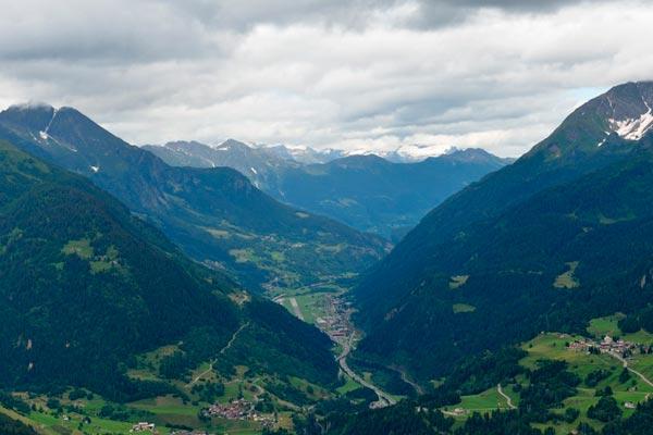 горы прованса